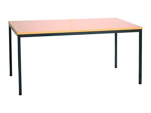 Schreibtisch Konferenztisch Besprechungstisch Seminartisch Mehrzwecktisch Bürotisch 180x80cm buche