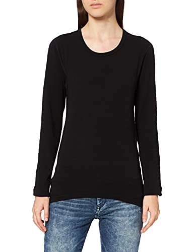 Trigema Damen Langarm Ski/Sport Shirt, Noir (Schwarz 008), 18 Femme