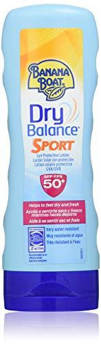 Banana Boat Dry Balance Sport Lotion Sonnencreme, LSF 50, 180 ml, 1er Pack(1 x 1 Stück)