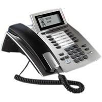 Agfeo ST 40 S0 schnurgebundenes System-Telefon weiß Silber