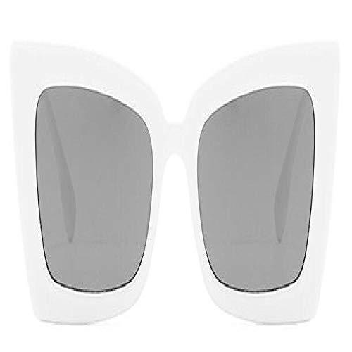 Gafas De Sol Polarizadas Gafas De Sol Cuadradas Modernas De Moda para Hombre, Montura Grande Vintage para Mujer, Diseño De Marca, Gafas De Sol, Gafas De Sol Uv400, Whitegray
