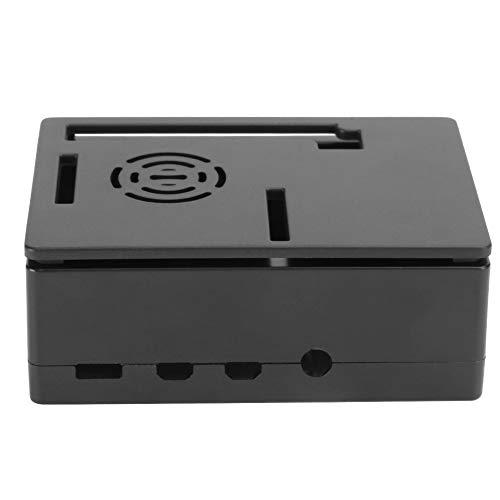 01 Carcasa de refrigeración de microordenador Resistente y Duradera, práctico Estuche de 4 Modelos B, para microordenador(Black Shell)