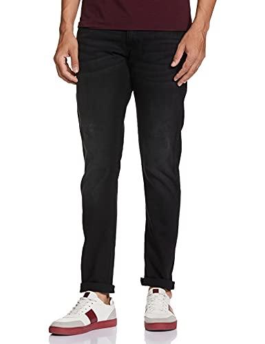 Wrangler Men's Skinny Fit Jeans (W38631W22SMU034033_Jsw-Black_34W x 33L)