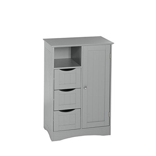 RiverRidge Ashland Collection 1 Door, 3 Drawer Floor Cabinet, -