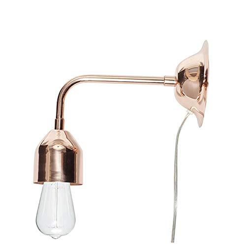 Wandlamp van koper.