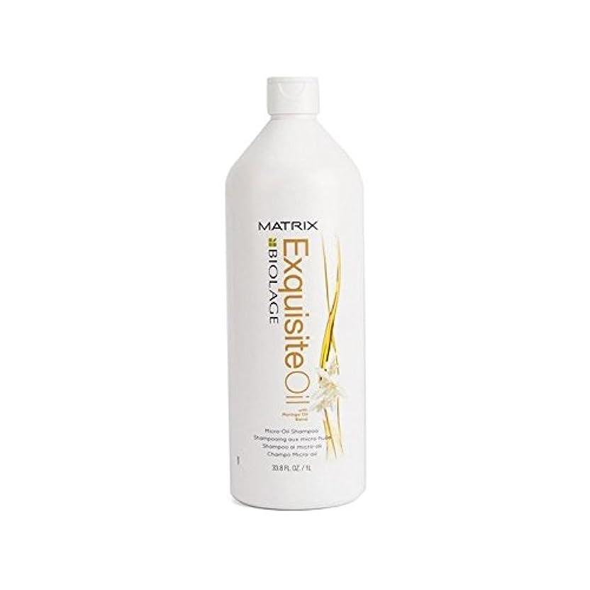 優先権センチメートル聖人Matrix Biolage Exquisite Oil Micro-Oil Shampoo (1000ml) (Pack of 6) - マトリックスバイオレイジ絶妙な油マイクロオイルシャンプー(千ミリリットル) x6 [並行輸入品]