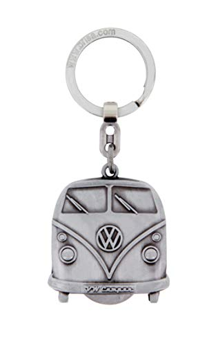 BRISA VW Collection Volkswagen T1 Combi Porte-Clés, Jet pour Les Chariots D'achat, dans Boîte Cadeau - Antique Argentine