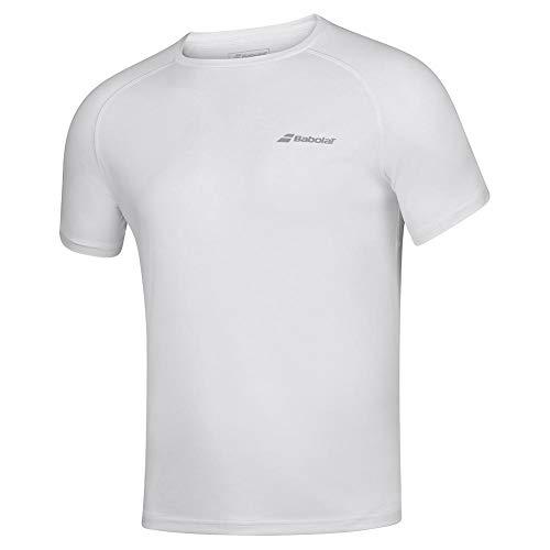 Babolat Play Crew Neck Tee Boy T-Shirt Unisexe pour Enfant S Blanc/Blanc