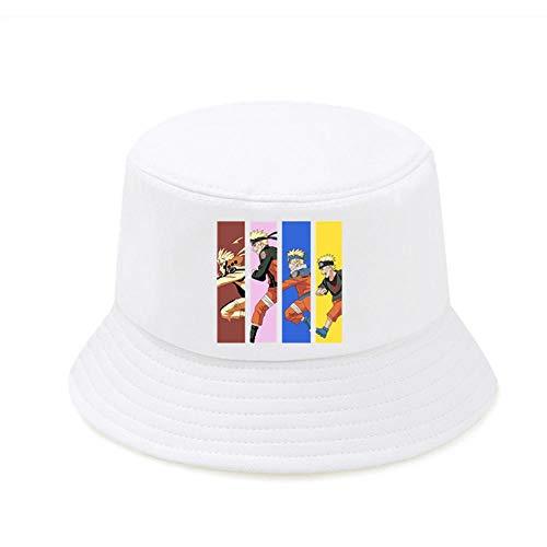 Anime Ladies Casual Angelhüte Naruto Faltbarer Eimer Hut Männlich Herbst Lustige Top Bucket Caps
