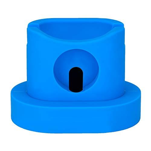 ASHATA DIY laadstation silicone basis-desktop-nachtkastje verticale oplaadhouder voor tafel, voor bed, voor airpods/iwatch, blauw