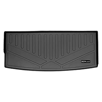 SMARTLINER All Weather Custom Fit Cargo Trunk Liner Behind The 3rd Row Seats Black for 2021 Chevrolet Tahoe/GMC Yukon - SE0524