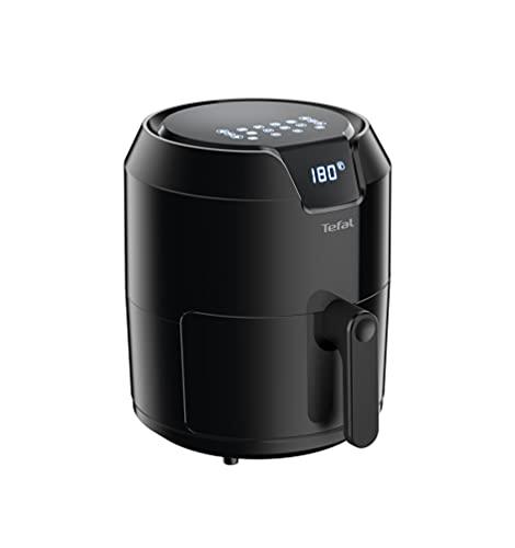 Tefal EY4018 Easy Fry Precision XL Heißluftfritteuse | 1500 Watt | 4,2 Liter Fassungsvermögen | automatische Programme | digitales Display | Timer | ohne Fett/Öl | Schwarz