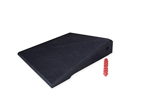 Rampenecke für Bordstein- / Türschwellenrampen Excellent 65 mm hoch (schwarz)