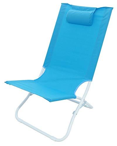 Meerweh Strandstuhl, blau