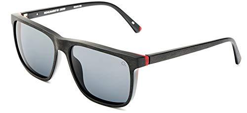 Etnia Barcelona Gafas de Sol KOHLMARKT 19 SUN BLACK RED/GREY HD 58/15/145 unisex