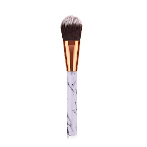 Ombre brosse mignon oeil licorne rose jeu eyeliner sourcil oeil brosse de maquillage de beauté outils cosmétiques (Handle Color : 1pc as picture)