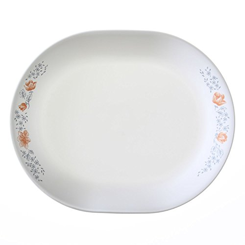 Corelle Livingware Apricot Grove 12.25' Serving Platter (Set of 4)