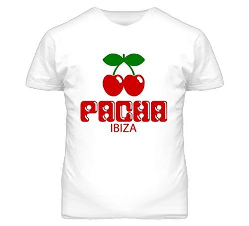Ibiza Pacha Club Camiseta España Europa Danza Escena Crazy Times Camiseta Blanca...