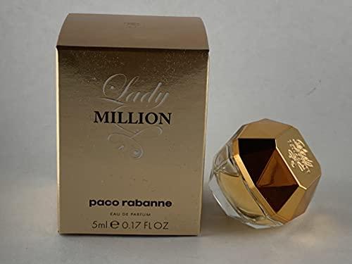 PACO RABANNE Lady Million 5 ML. 0.17 FL.OZ. EAU DE Parfum MINI