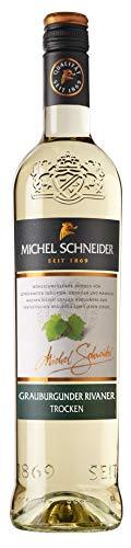 Michel Schneider Grauburgunder Rivaner trocken Qualitätswein Pfalz Grauburgunder NV trocken (1 x 0, 75l)