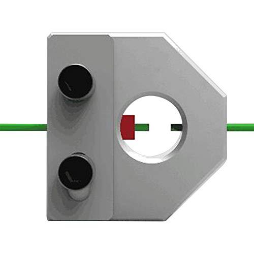 Lionina - Conector de filamento de Impresora 3D, Conector 3D de filamento Roto por Conector de filamento rompible por Metal, fácil de Impresora 3D Universal de 1,75 mm 3 mm, Show, 1,75mm