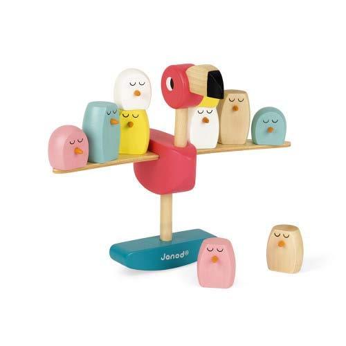 Janod Zigolos Balancing Game - Flamingo