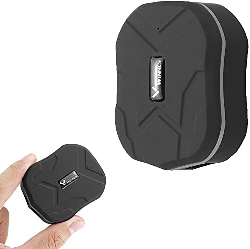 Mini Localizadores GPS para Coche,Rastreador GPS Seguimiento de Actividad Fuerte Imán Recargable GPS T Racker para Vehículos/Niños con Aplicación Gratuita Mini TK905