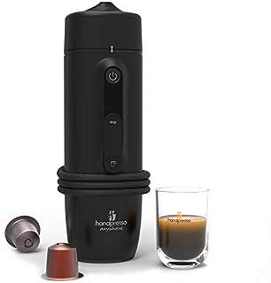 Handpresso 48309:cafetera portátil de expreso de cápsula, 120W, 0,05litros, negra