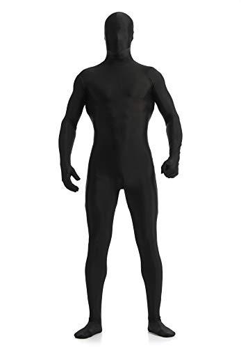 Ensnovo Mens Full Body Tights Suit Costumes Spandex Zentai Bodysuit