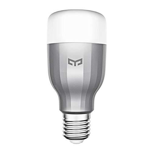 Xiaomi Intelligenti Lampadine, Xiaomi Yeelight Colorata Smart Light Bulb lampada bluetooth Lampadina Led Dimmerabile Wifi Bulb with APP Con Telecomando