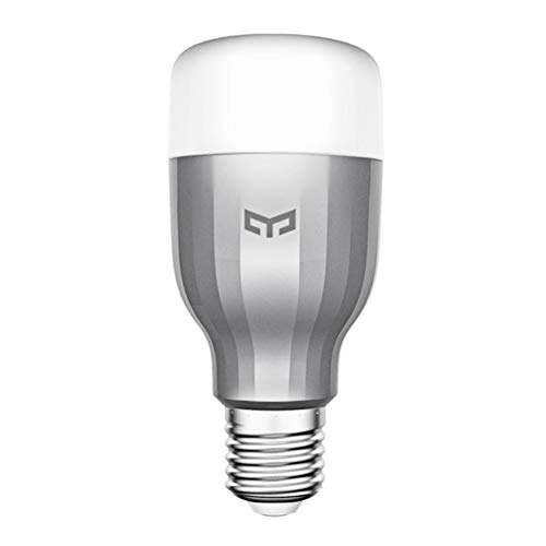 Xiaomi Intelligenti Lampadine, Xiaomi Yeelight Colorata Smart Light Bulb lampada bluetooth Lampadina Led Dimmerabile Wifi Bulb with APP Con Telecomando