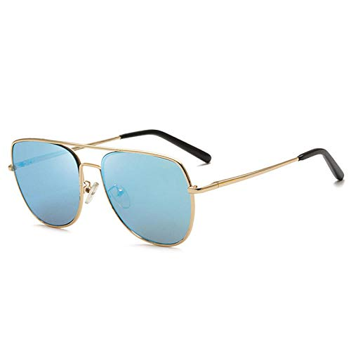 Sonnenbrille Sonnenbrille Fahrrad Herren Polarisierte Sonnenbrille Neue Metallbrille Persönlichkeit Farbe Sonnenbrille Sonnenbrille Frauen Sonnenbrille-A