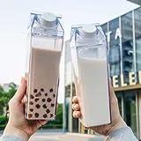 Star-Goods Fun Clear Stylish Milk Carton Water Bottle