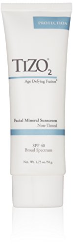 TIZO 2 Non-Tinted Facial Mineral Sunscreen SPF 40 , 1.75 oz