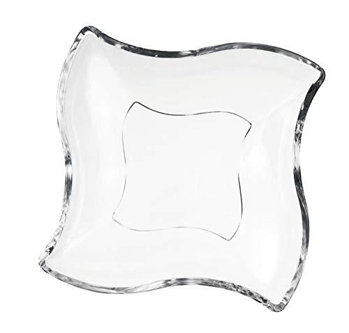 Villeroy & Boch NewWave Teller, 16,9x16,9 cm, Kristallglas, Klar