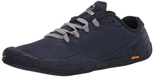 Merrell Herren Vapor Glove 3 Luna LTR Sneakers, Blau (Navy Navy), 45 EU