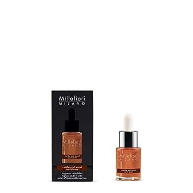 Foto di Millefiori Milano fragranza idrosolubile | 15ml | fragranza Vanilla & Wood | da utilizzare con diffusore di fragranza per ambiente ad ultrasuoni Millefiori Hydro