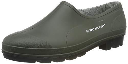 Dunlop Buty ogrodnicze, chodak, Golosh, wodoszczelne, uniseks rozmiary 3-12 UK, - ZIELONY - 45 EU