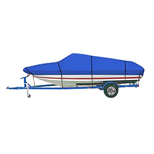 GKTF Cubierta para Barco Polvo, Heavy Duty 420d Impermeable Resistente Antioxidante Oxford UV Resistente a la Intemperie Protección para Cualquier Estación,14to16ft:530x290cm