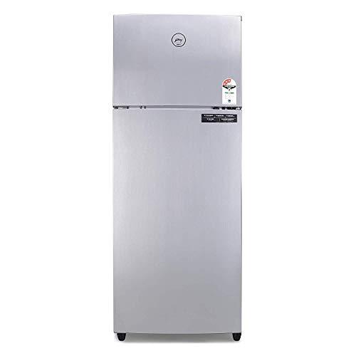 Godrej 261 L 3 Star Inverter Frost-Free Double Door Refrigerator (RF EONVALOR 261C 35 RCI ST RH, Steel Rush)