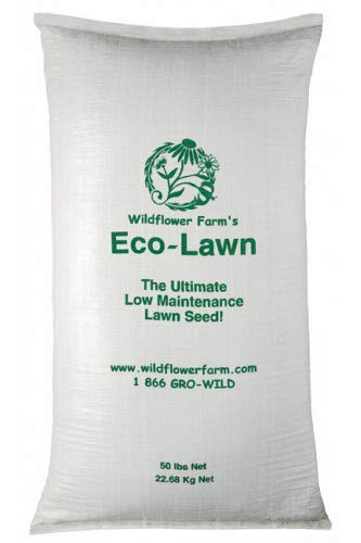 ECO-LAWN Grass Seed Blend Low Maintenance Lawn - 50lb Bag
