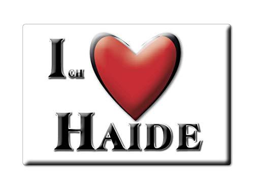 Enjoymagnets HAIDE (by) Souvenir Deutschland Bayern Fridge Magnet KÜHLSCHRANK Magnet ICH Liebe I Love