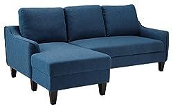 powerful Ashley Signature Jarrow Mid Century Soft Sofa Bed, Blue