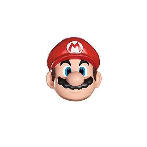 SUPER MARIO 13383 – Masque Mario, Rouge, Taille Unique
