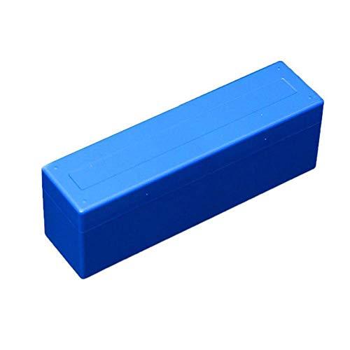 Sobeta Neue Aufbewahrungsbox Kunststoffkoffer für 20 zertifizierte Pcgs NGC-Platten Münzhalter Blau (Nicht enthalten die 20 Münzkapseln)