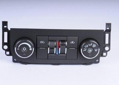 ACDelco 15-74130 GM Original Equipment Heating and Air Conditioning Control Panel with Rear Window Defogger Switch