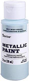 Darice Metallic Sea Mist Pearl, 2 ounces Acrylic Paint