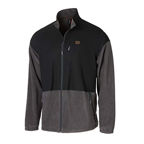 Wrangler Herren Long Sleeve Technician Jacket Arbeitsoberkleidung, schwarz, Large Hoch