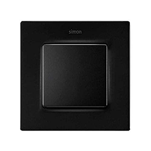 Simon Marco para 1 elemento, serie 82 Concept, 1 x 7 x 8 centímetros, color negro mate (referencia: 8200617-098)