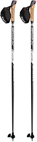 Swix CT2 Nordic Walking Stock Black mit Twist & Go Spitze 1 Paar 105cm